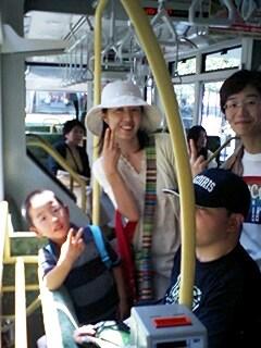 路面電車で広島市内観光