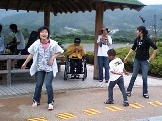 野外練習@ふれあい広場