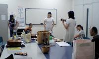 ダンス・ナンバーの練習
