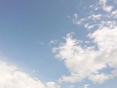 世界一周に向けて札幌の空