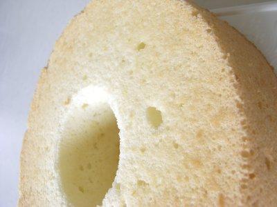 卵白だけのシフォンケーキ