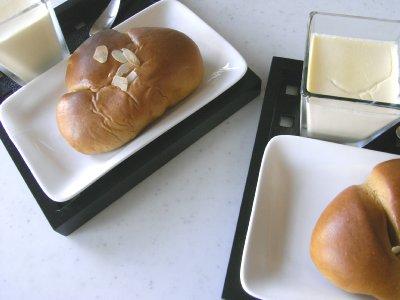 黒糖クリームパン