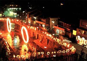 湯村の火祭り