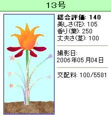 信じられない植物『13号』