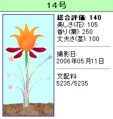 信じられない植物『14号』