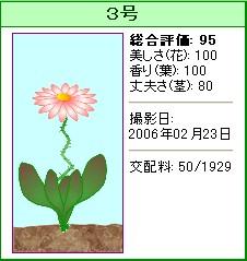 信じられない植物『3号』