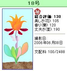 信じられない植物『18号』