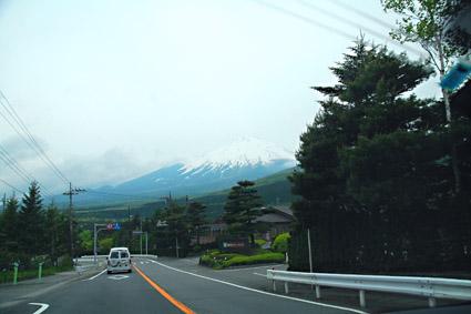 見送り富士