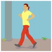 足ダイエットには、一日1時間以上のウォーキングが有効