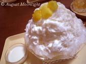 ココナッツミルク練乳&パイナップル氷