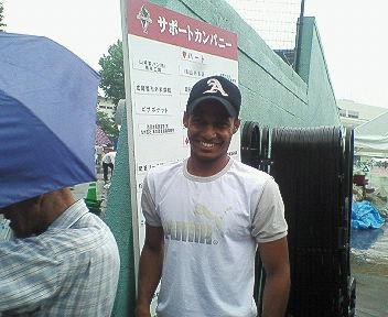 200608 試合後 アラン 2