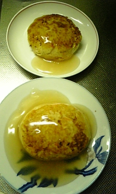 豆腐バーグ3
