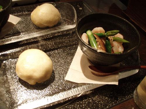 季節野菜の2品盛り前菜