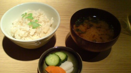 rice soup pickles