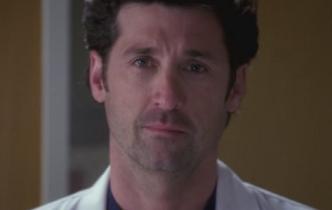 Derek in sorrow
