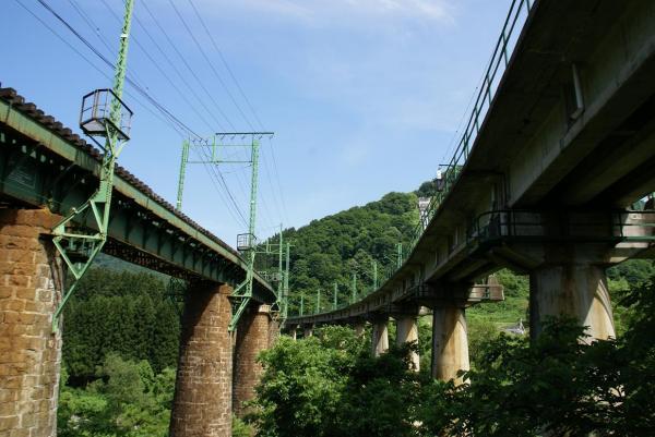 毛渡沢鉄橋