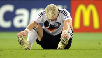 Schweinsteiger負けたー疲れたー