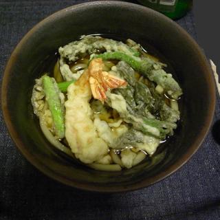 天ぷらうどん