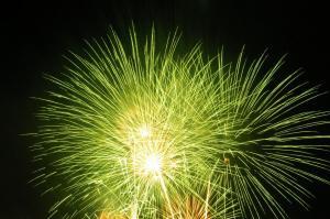 花火1(黄色)