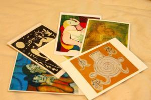 ピカソのポストカード