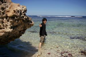 ロットネスト島の海岸