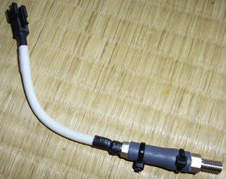 武川M5センサー + キタコM6ニップル