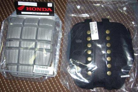 HONDA ボディプロテクター&CEバックプロテクター