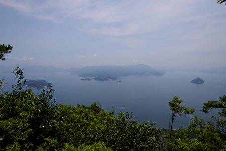 獅子岩より江田島方面