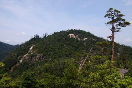 獅子岩より弥山