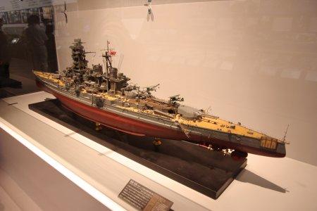 巡洋戦艦「金剛」模型 PLフィルターをロッカーに入れてしまった・・・