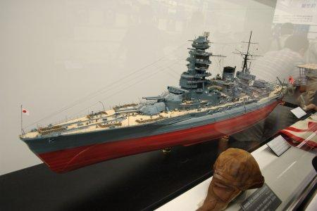 戦艦「長門」模型