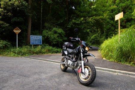 塔原林道からシガ谷林道へ