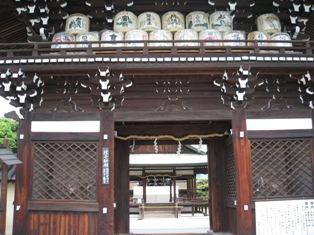 梅宮神社 門