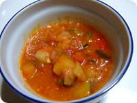カンパーニャ風チャンボッタ(野菜のトマト煮込み)