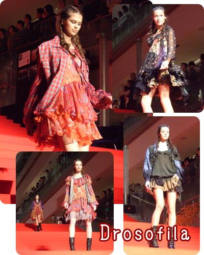 drosofilaのファッションショー