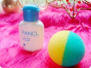 ファンケル洗顔パウダー&泡立てボール