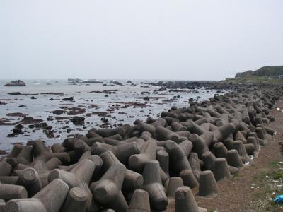 海鹿島の海岸
