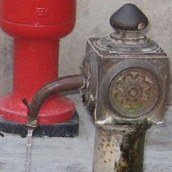 ヴェネチアの水噴き4