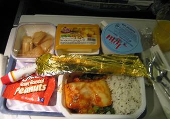 機内食KE6710-07年5月