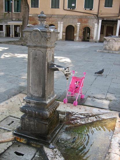 ヴェネチアの水噴き5