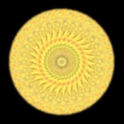 月の砂漠イラスト・万華鏡554