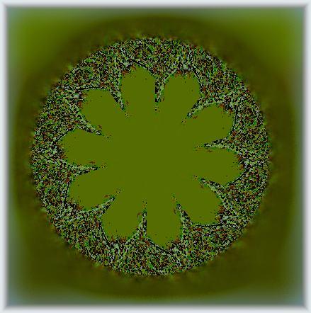 落ち葉の化石2/イラスト万華鏡675