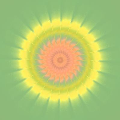 向日葵の太陽