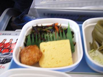 CA機内食サイドメニュー