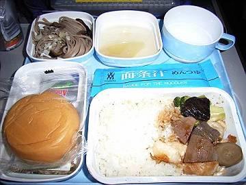 CA北京路線 機内食