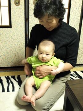 おばあちゃんとTsubaki