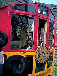 嵯峨嵐山トロッコ列車