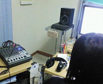 Tプロデユーサーのホームスタジオ