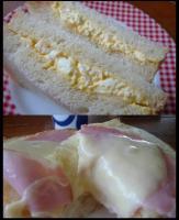 卵&ハムチーズ