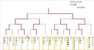 3rd大会結果(2008.06.08)